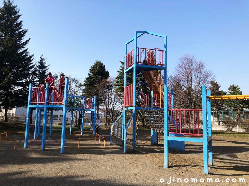 札幌平岡南公園遊具2