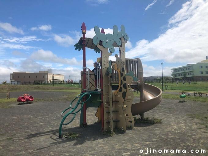 東雁来公園幼児用遊具