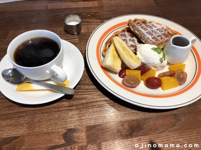 手稲区cafefugoワッフル