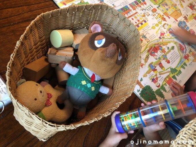 札幌子連れカフェハルテラスおもちゃ
