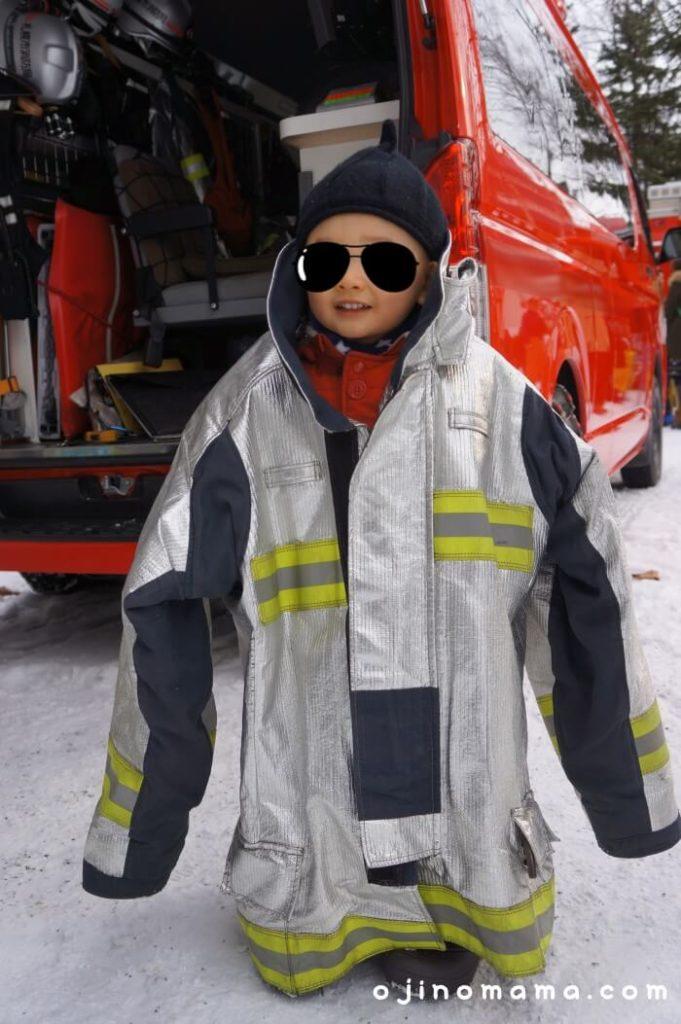 札幌市消防出初式消防服