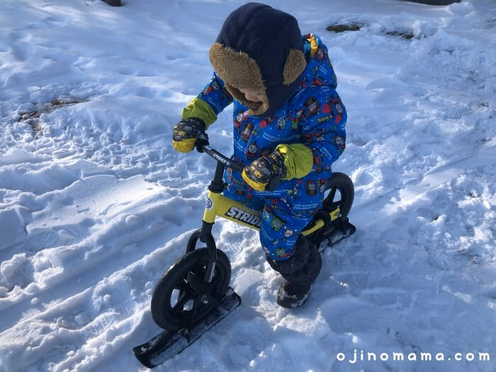札幌羊ヶ丘展望台冬ストライダー