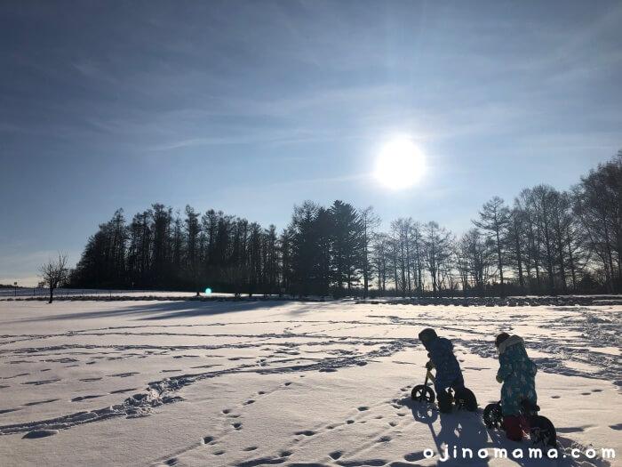札幌羊ヶ丘展望台冬スノーパーク