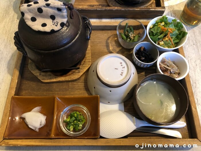 清田区ランチカフェリーノ土鍋