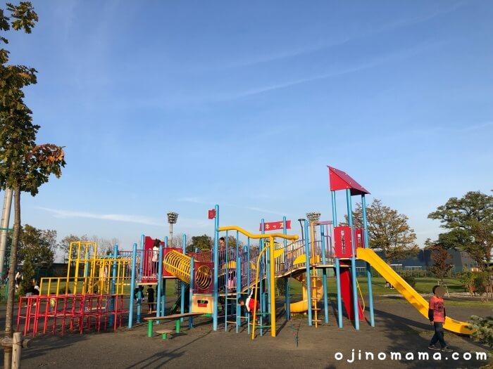 札幌市北郷公園コンビ遊具