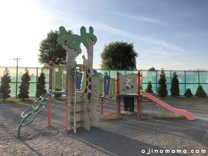 札幌市北郷公園幼児コンビ遊具