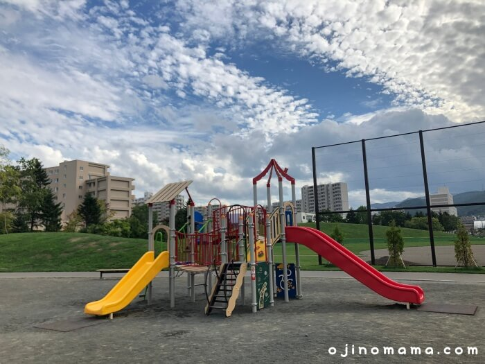 西区発寒西公園幼児用コンビ遊具