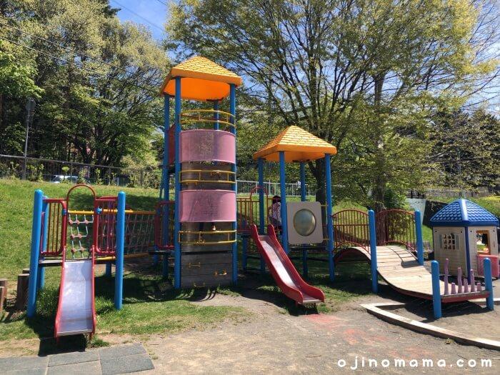 札幌厚別区かげろう公園コンビ遊具