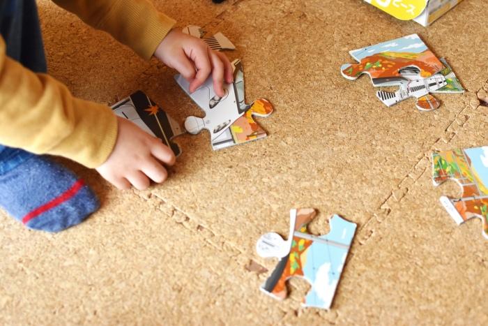 3歳おもちゃパズル