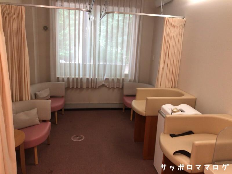北海道神宮祈祷授乳室