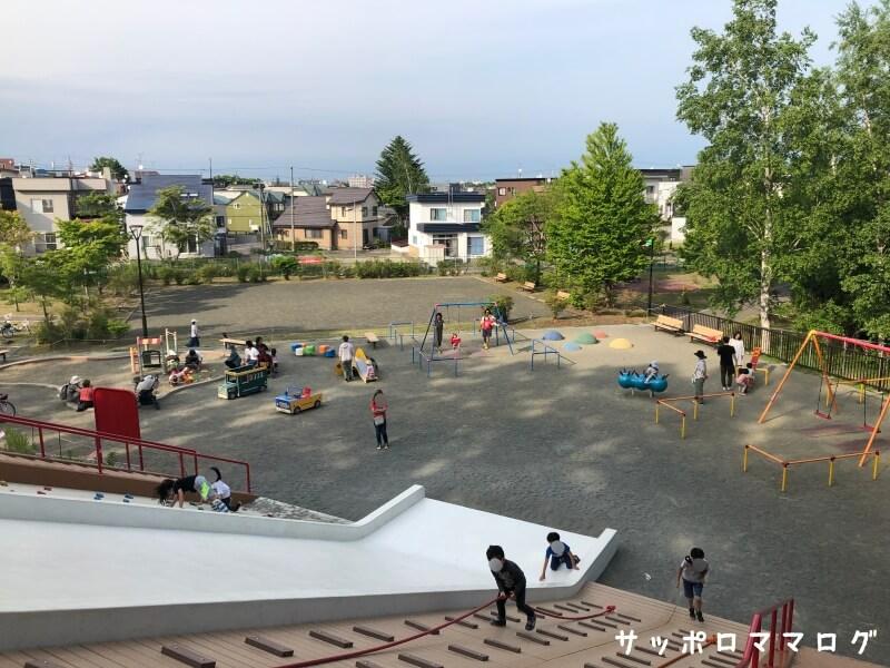札幌清田南公園全体