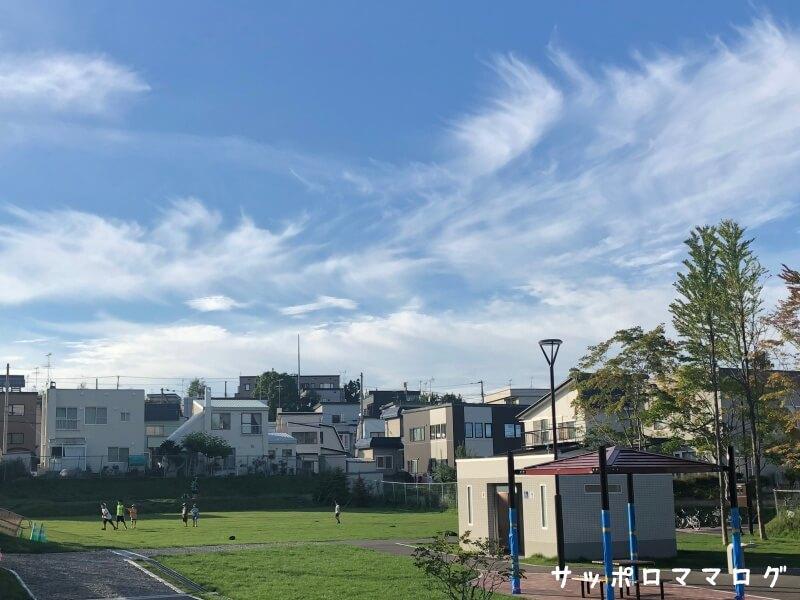 札幌清田南公園芝生