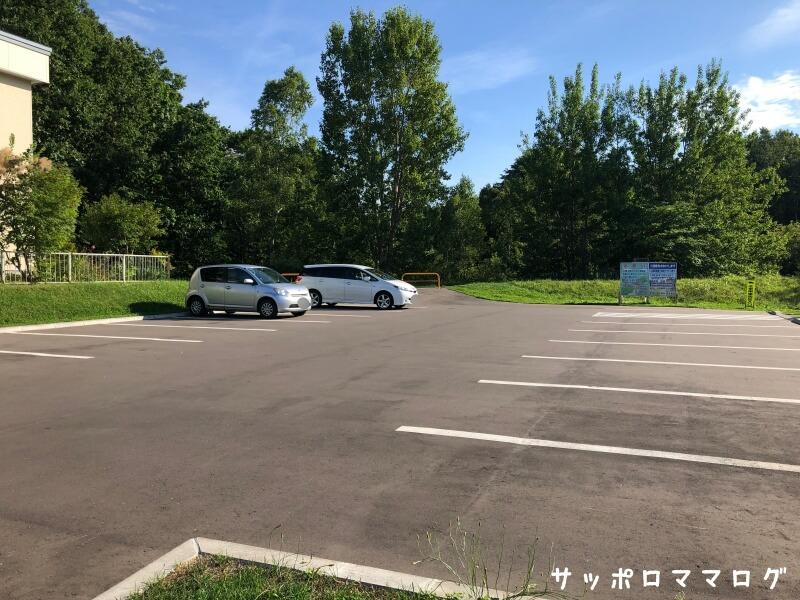 札幌清田南公園駐車場