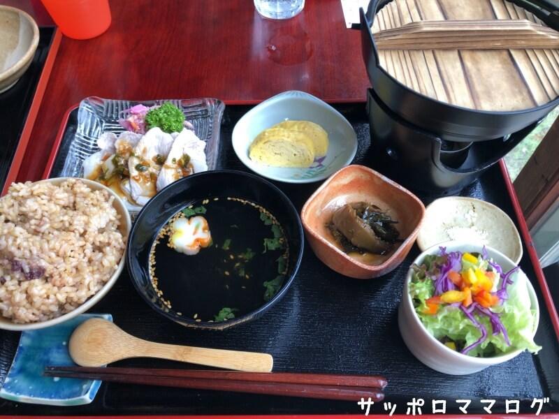 小樽菜はなランチセット