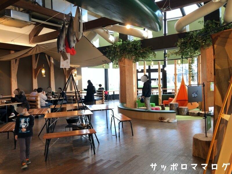 恵庭道の駅レストランランチ