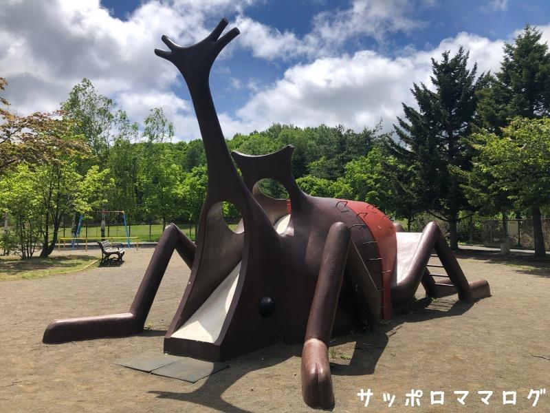 常盤公園カブトムシ