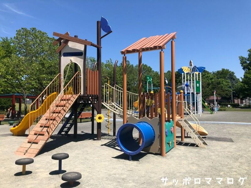 伏古公園幼児コンビ遊具