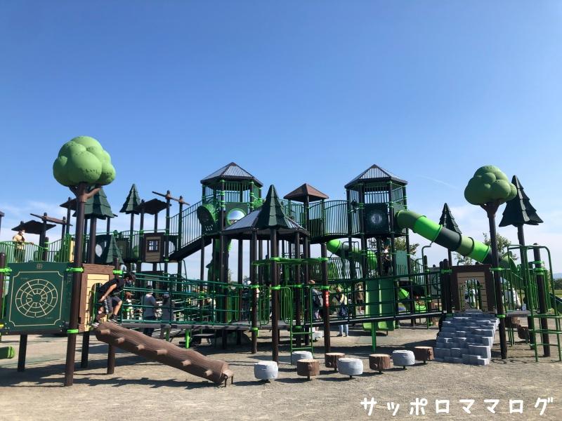 厚別山本公園コンビ遊具1