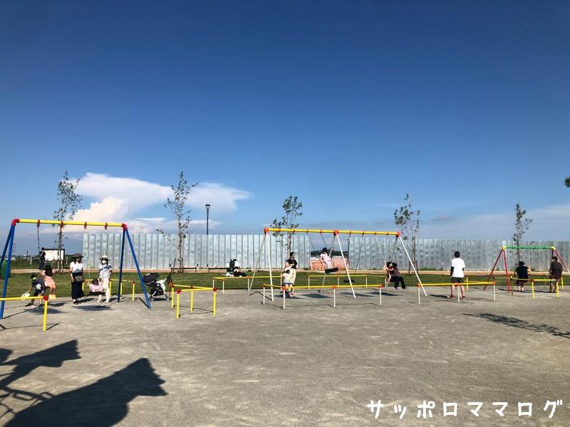 厚別山本公園ブランコ