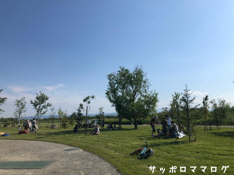 厚別山本公園芝生広場
