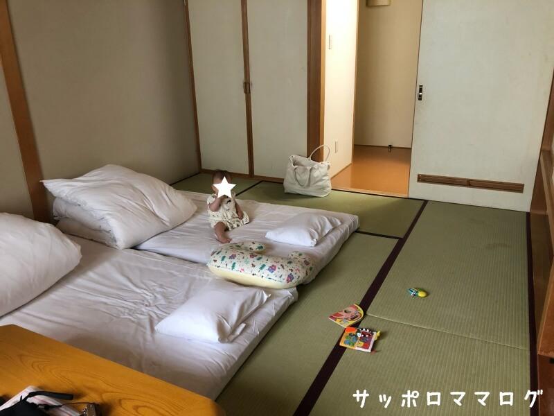 芦別スターライトホテル和室